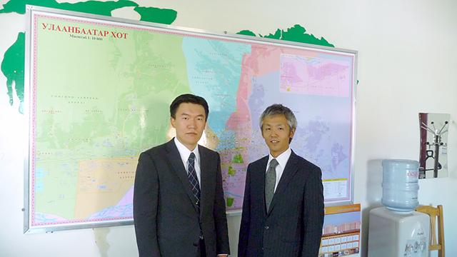 モンゴルと日本の健全な発展をバックアップするタスクフォースであること